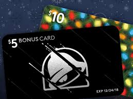 taco bell offers free 5 bonus card for