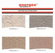 Energex Stucco System Finish Coat Chargar - Exterior stucco finishes