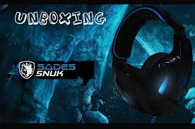 Unboxing - Headset Gamer <b>Sades Snuk</b> SA-902 - YouTube