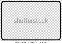 Image Mirror Rectangle Shape Frame From Black Rope For Your Element Design At Transparent Effect Background Shutterstock Rectangle Shape Frame Black Rope Your Stockvector rechtenvrij