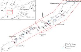 St Simons Tide Chart 2017 Hydrodynamic Modeling Of The St Lawrence Fluvial Estuary I
