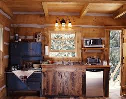 cabin kitchen design. Exellent Cabin Cabin Kitchen Design For Well Best Small Kitchens  Ideas On With C