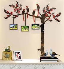 acrylic wall stickers 3d crystal wall decals large family tree photo frames wall decor the sweetest highlight of your home and family small