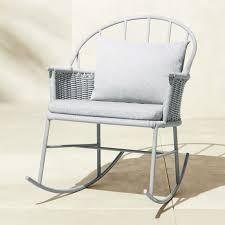 1730 grey rocking chair