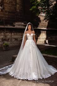 Crystal Design 2016 Wedding Dresses Chapel Train Verona And
