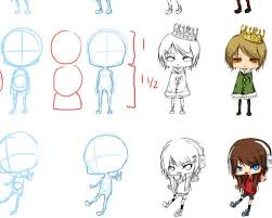 anime chibi drawing tutorial. Exellent Drawing Mega Chibi Tutorial By Angela Lee With Anime Drawing A