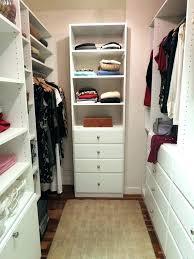 walk in closet organizer narrow small within organizing ideas remodel corner 4 organization tips and regarding organizi