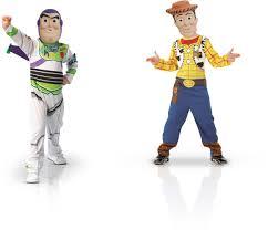 Coffret D Guisement Buzz Et Woody Toy Story Enfant