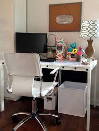 work office decorating ideas fabulous office home. Home Decoromputer Small Room Design Ideas White Wooden Desk Wall Picture Art Frame Swivelhair Painting Decorating Office Fabulous Work