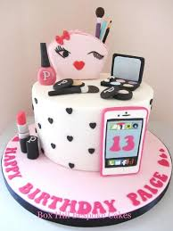 Make Up Phone Cake By Noreen At Box Hill Bespoke Cakes Cakes