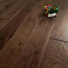 abbey quin coffee oak 125mm rustic brushed matt lacquered solid wood flooring