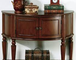 Furniture Coaster Fine Furniture Accent Entry Table Curved Front