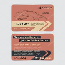 Make Your Own Business Card Design Car Business Card Template Service Car Business Card