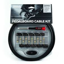 planet waves solderless custom cable kit 10 feet 10 plugs the planet waves pedal board kit is the ultimate solution for custom wiring your pedal board or