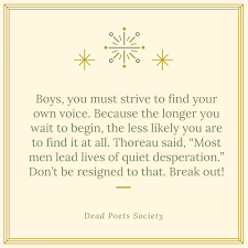 Society Quotes Magnificent Dead Poets Society Quote 48 QuoteReel