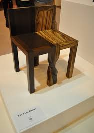 unique wood chair. Unique Design Wooden Intertwined Chair Wood M