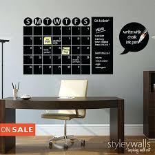 chalkboard wall calendar chalkboard calendar decals chalk board wall calendar vinyl wall decal gift chalkboard decals chalkboard wall calendar