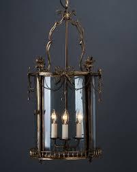 decorative late 19th century circular hall lantern in the georgian style antique lighting
