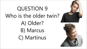 Hair Style Quiz marcus & martinus quiz facts youtube 6782 by wearticles.com