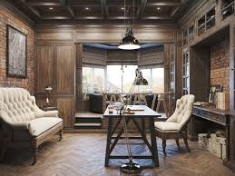 home office lighting ideas. lighting ideas classic home office design with industrial pendant and floor arc lamp also