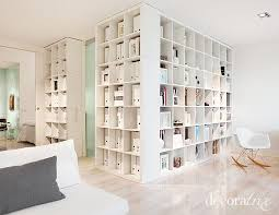 Using Bookshelves As Room Dividers, Storage Is Everything In Small Spaces!  More