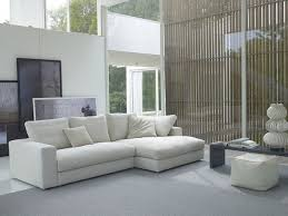 ... White Fabric Sectional Sofa Incredible Wall Decor For Living Room  Nanobunshco Pictures Lovely White Fabric Sectionals ...