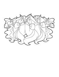 Small Picture All Awesome Horse from Horseland Coloring Pages Batch Coloring