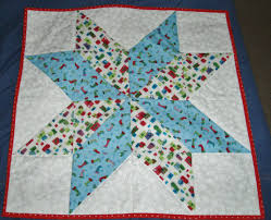 Table Topper made from the Big Star Quilt block by the Missouri ... & Table Topper made from the Big Star Quilt block by the Missouri Star Quilt  Company. Adamdwight.com