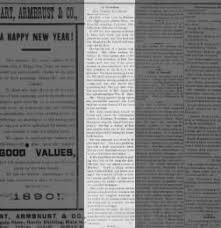 The Comet from Johnson City, Tennessee on January 2, 1890 · Page 1