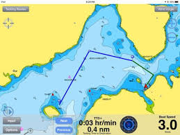 Water Charts App Navionics Charts Now Available With Tacking Routes In