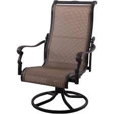 darlee monterey sling patio swivel rocker dining chair edington swivel patio dining chair