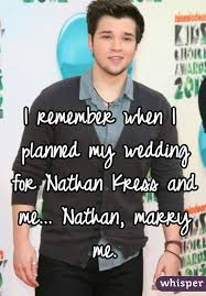 nathan kress wedding. i remember when planned my wedding for nathan kress and menathan, marry me. s