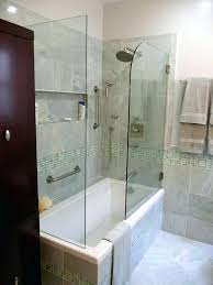 inspiring bathtub shower combination bathroom tub combo traditional with espresso cabinet and best faucets com