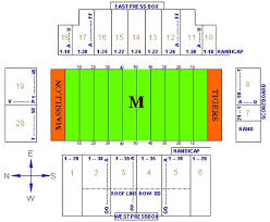 Massillon Tiger Stadium Seating Chart Ohsaa Ohio High School State Football Championships