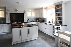 white shaker kitchen cabinets grey floor. White Shaker Kitchen Cabinets Grey Floor. [image_title|ucwords] Floor H