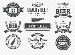 Vintage Logo Vector Label Vintage Logo Clip Art Vector Beer Labels Png Download 1096