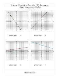 graph linear equations math math worksheets for graphing linear equations them and try to solve
