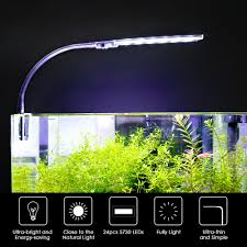 Live Bait Tank Light Us 9 97 35 Off Led Aquarium Lighting 10w Ultra Thin Aquarium Led Light Ultra Bright Clip On Lighting Lamp 24pcs 5730 Led For Aquarium Fish Tank In