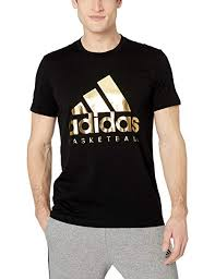 Adidas Mens Shirt Size Chart Adidas Mens Badge Of Sport Basketball T Shirt At Amazon