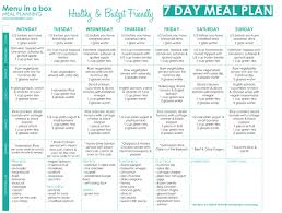 7 day diabetic meal plan banting diet best 7 day banting meal plan to start with this diet