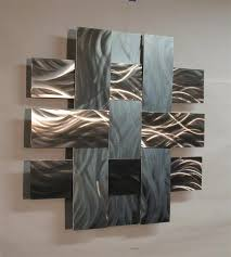 the photos below are of the 28 inch size  on wall art pieces with contemporary metal wall art sculpture stainless 14s atlanta georgia