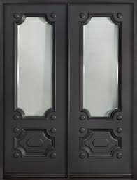 Front Door Custom - Double - Solid Wood with Custom Paint Color ...