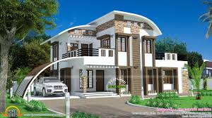 House, curved roof style