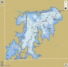 Sooner Lake Fishing Map Us_aa_ok_01751974 Nautical