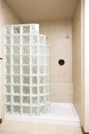 custom doorless shower when looking for glass blocks