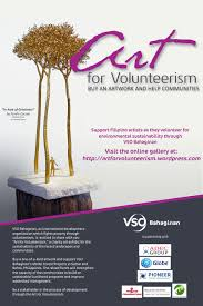 art for volunteerism support our local artists as they volunteer the