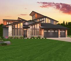 northwest house plans architectural designs 23274jd 14792 bat pacific 50 luxury floor mountain unique contemporary home