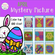 Die Spring Color Chart April Spring Mystery Picture Color A 100 Chart 2 Ways