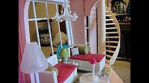 wooden barbie doll house furniture. Barbie Three Story Dream House Dollhouse Tour Customized W/ Kidkraft Wooden Doll Furniture