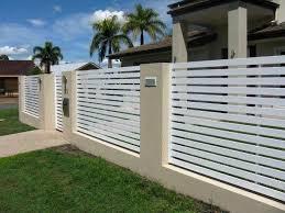 metal fence designs. Fabulous Concrete Home Fence Designs Ces Design Modern Metal With Walls Google Search Gates Pinterest Fences